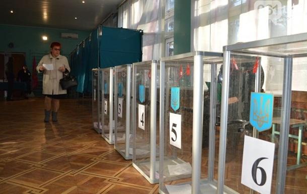 Местные выборы: партия За майбутне вошла в пятеркуВыборы